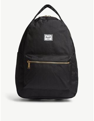 Herschel Black Nova Mid Volume Backpack