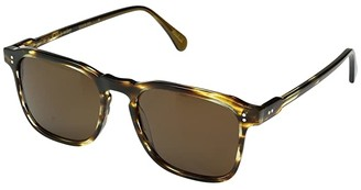 Raen Wiley Made in France Collection (Brown Arbois) Polarized Fashion Sunglasses