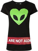 Love Moschino 'St. Cuore Alieno' T-shirt