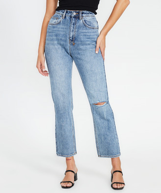 Ksubi Chlo Wasted Jeans Ripped Rekonize Blue