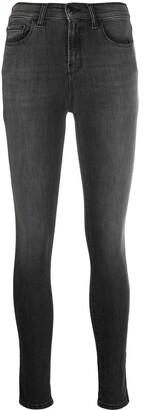 Emporio Armani Stonewashed Skinny Jeans