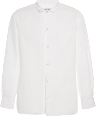 Officine Generale Cotton Button-Up Shirt