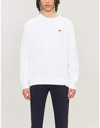 Levi's Original Housemark Icon cotton-jersey sweatshirt