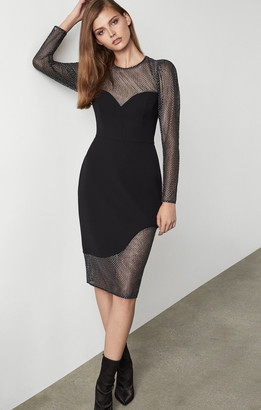 BCBGMAXAZRIA Chain Mail Dress