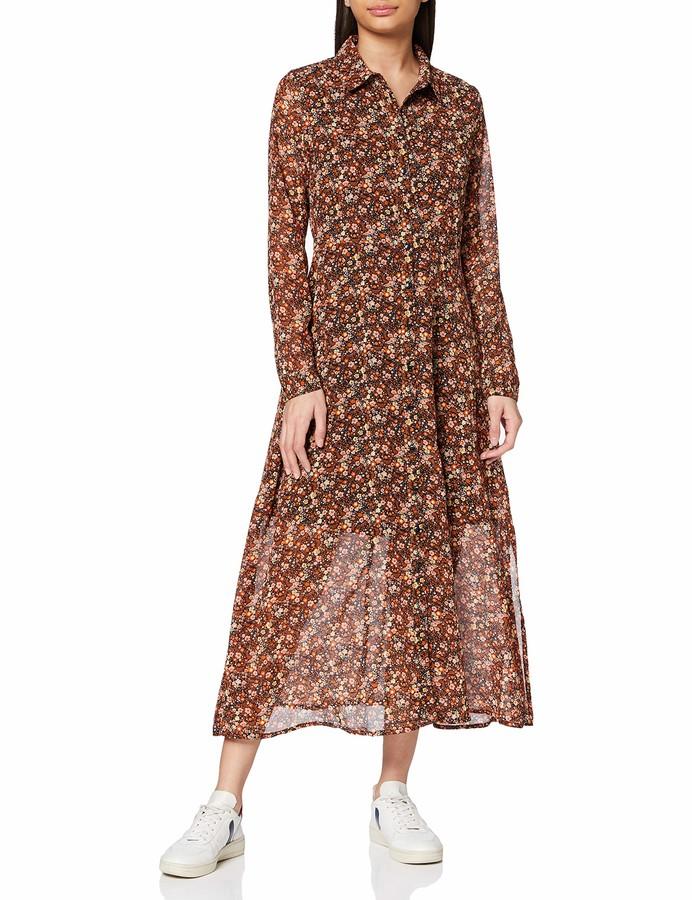 Y.A.S Women's Yasnoida New Ls Long Shirt Dress S