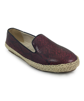 C Label Wine Rome Snake-Print Loafer