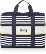 HUGO BOSS Stripe Beach Bag