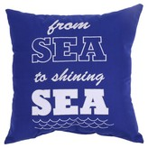 Threshold Shining Sea Embroidered Outdoor Pillow 18