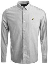 Lyle & Scott Brushed Chambray Shirt Grey