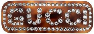 Gucci Crystal hair clip