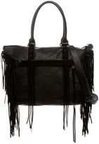Liebeskind Berlin Paula Leather Fringe Tote