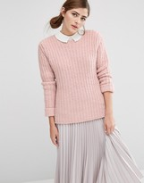 Fashion Union Oversized Jumper In Chunky Knit