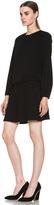 Isabel Marant Elwood Crepe Chic Dress in Black