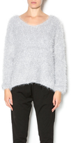 J.o.a. Grey Fluffy Sweater