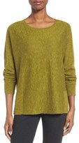 Eileen Fisher Women's Organic Linen & Cotton Slub Knit Pullover