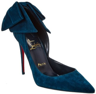 Christian Louboutin Rabakate 100 Suede Pump