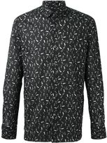 Lanvin footstep print shirt - men - Cotton - 40