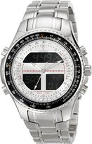 Sartego Men's SPW15 World Timer Quartz Chronograph Watch