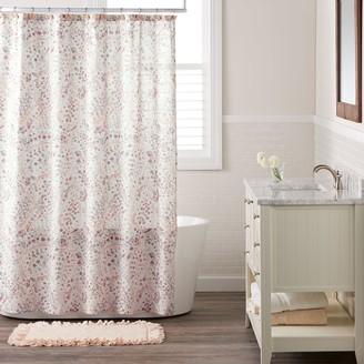 Lauren Conrad Faded Paisley Shower Curtain