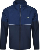 Lacoste Full Zip Jacket Blue