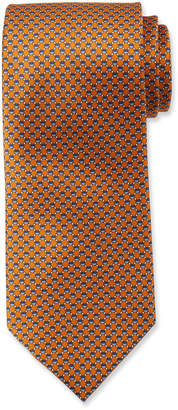 Brioni Hexagons Silk Tie