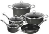Chantal Copper Fusion Cookware Set, 9 Pieces