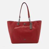 Coach Women's Turnlock Chain Tote Bag - Cherry