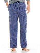 Roundtree & Yorke Striped Flannel Pajama Pants