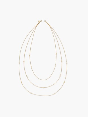 Talbots Pearl Layering Necklace