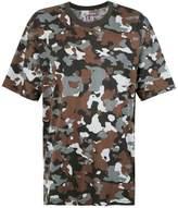 camouflage oversized À La Garçonne x Hering T-shirt