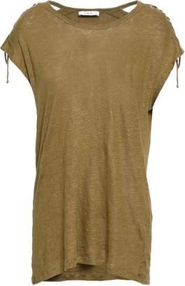 IRO Melange Slub Linen T-shirt