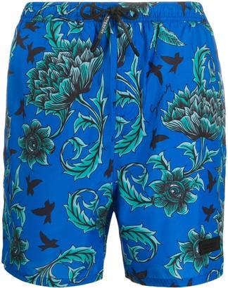 Givenchy Floral Print Swim Shorts