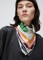 Henrik Vibskov cheeky cheek print cheeky cheek scarf