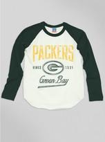 Junk Food Clothing Kids Boys Nfl Green Bay Packers Raglan-sugar/hunter-s