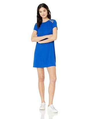 Speechless Junior's Womens Teen T-Shirt Dress