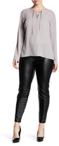 Hue Leatherette Legging (Plus Size)