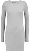 Enza Costa Ribbed Modal-Blend Mini Dress