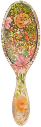 Wet Brush Original Detangler Hair Brush - Liquid Glitter-Flickering Florals