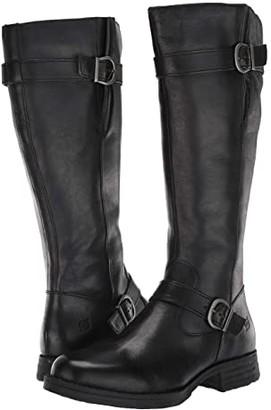 Børn Pointe (Black Full Grain Leather) Women's Boots