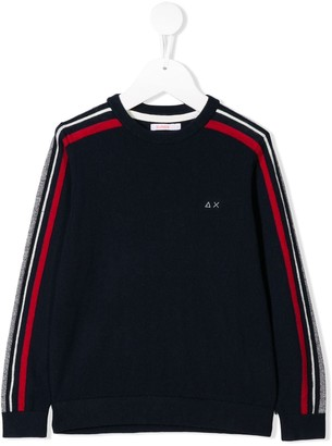 Sun 68 Kids Striped Sweatshirt