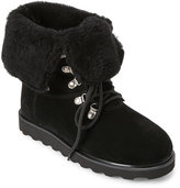 BearPaw Black Kayla II Lined Lace-Up Waterproof Boots