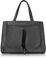 Marc Jacobs Maverick Black Leather Tote Bag