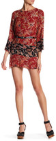 Anama Floral Cutout Kaftan Dress