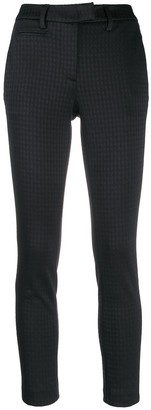Dondup Cropped Houndstooth Trousers