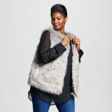 Merona Women's Plus Size Fur Vest