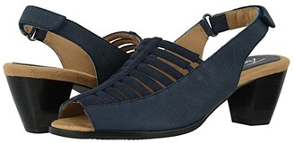 Trotters Minnie (Navy) Women's Shoes