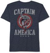 JEM Men's Captain America Run Through Graphic-Print T-Shirt