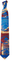 Vivienne Westwood Too Fast To Live Tie Red/Blue One Size