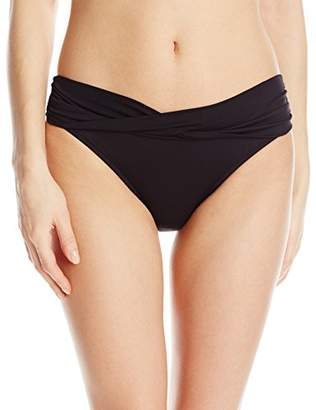 Seafolly Women's Twist Band Hipster Bikini Bottoms