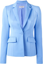 Emilio Pucci classic blazer - women - Silk/Cotton/Linen/Flax/Spandex/Elastane - 40